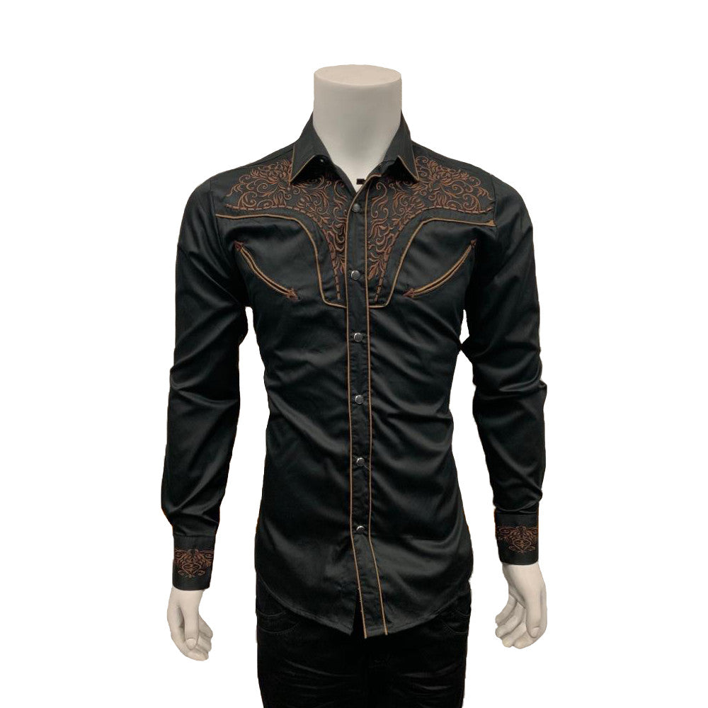 Long Sleeve Cowboy Shirt 3510