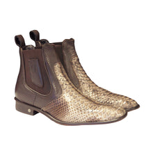 Load image into Gallery viewer, Vestigium Python Chelsea Boot