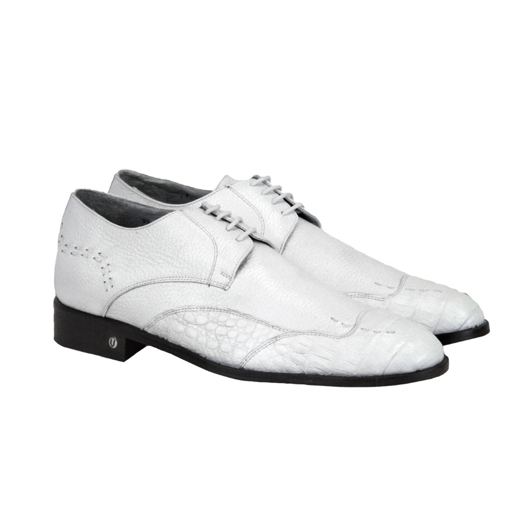 Vestigium Caiman Belly Oxford Shoes