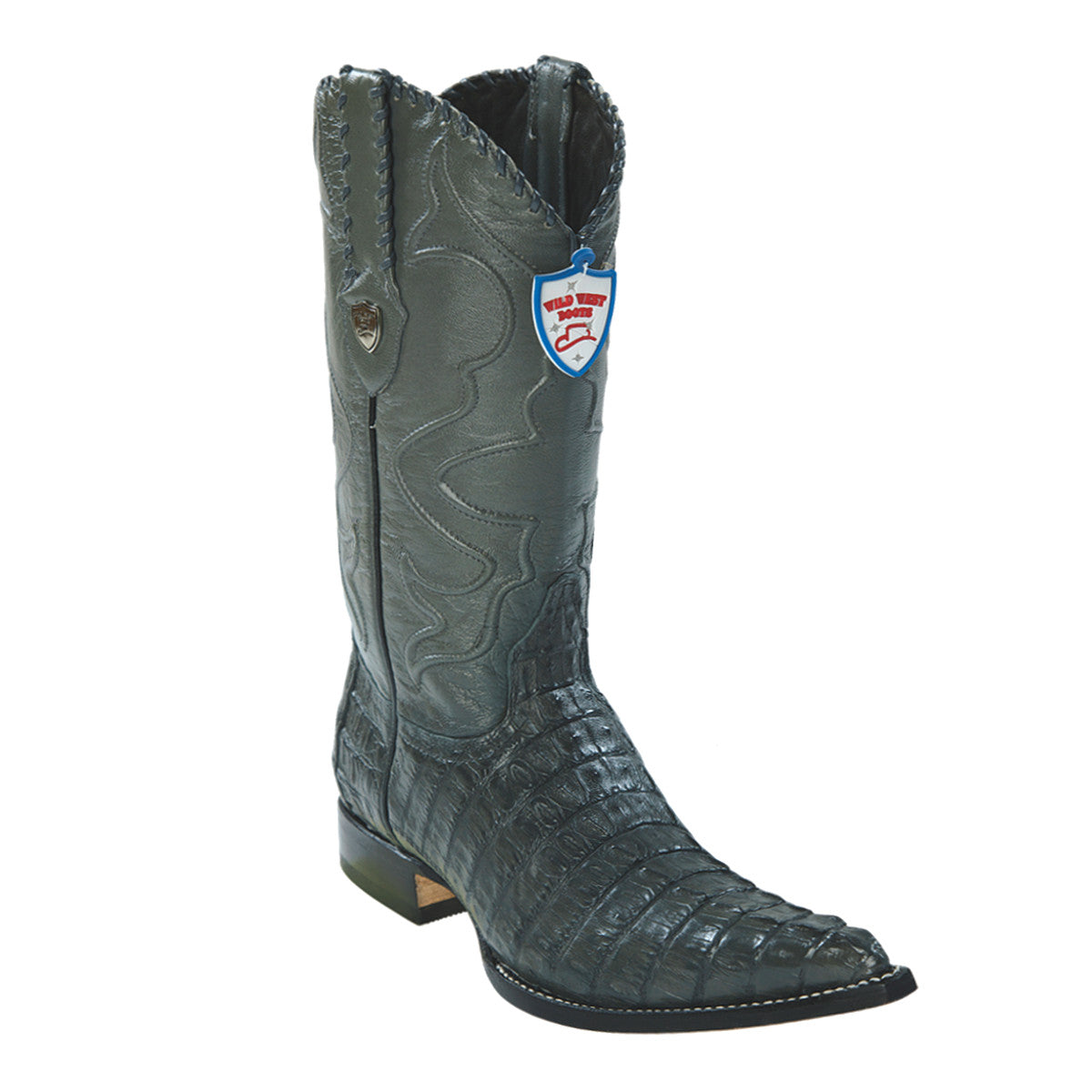 Wild West Boots H95 3x Toe Caiman Tail - Grey