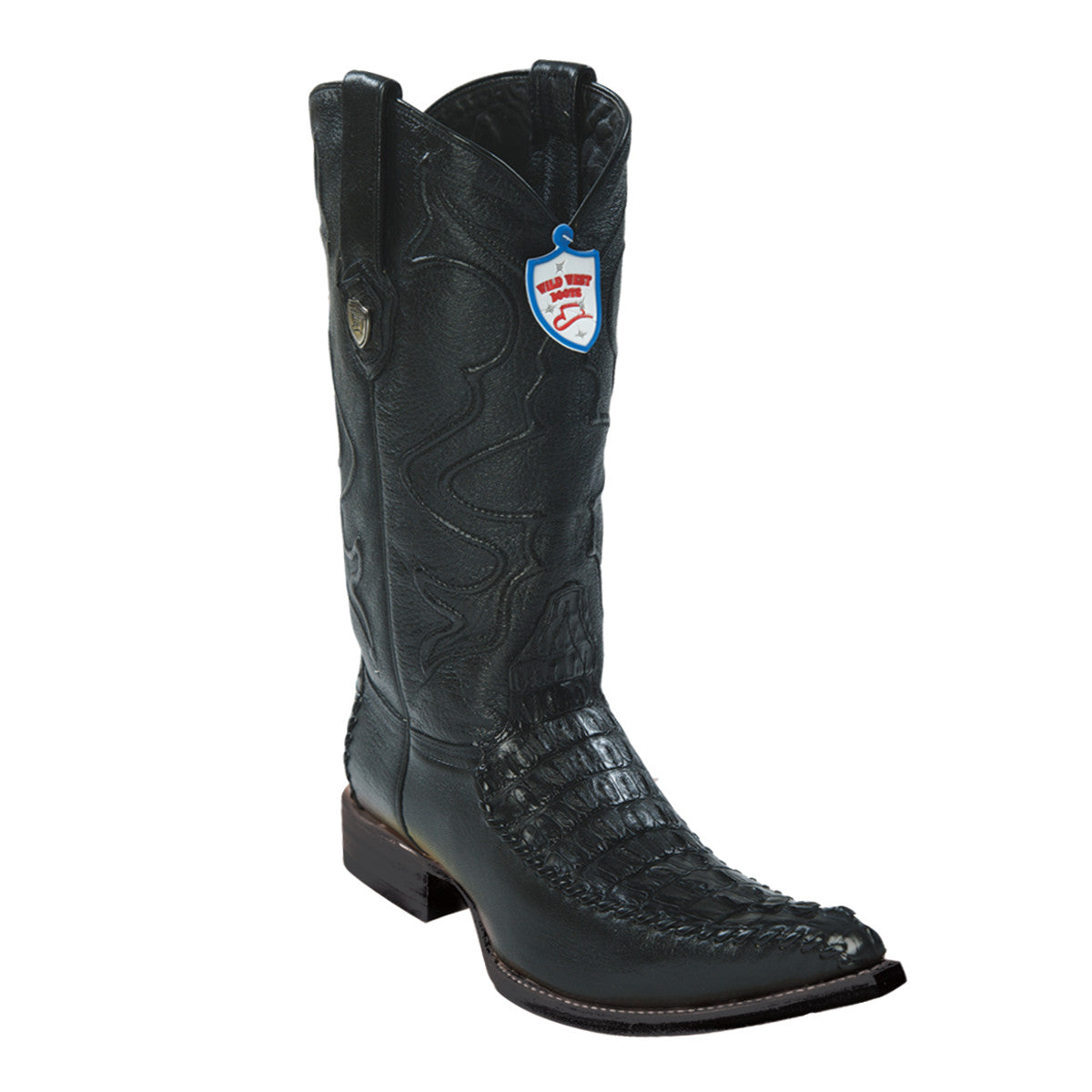 Wild West Boots 3x Toe Caiman Tail/Deer