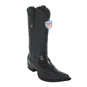 Wild West Boots 3x Toe EEL/Deer
