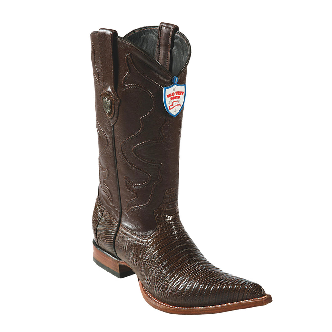 Wild West Boots H95 3x Toe Lizard - Brown