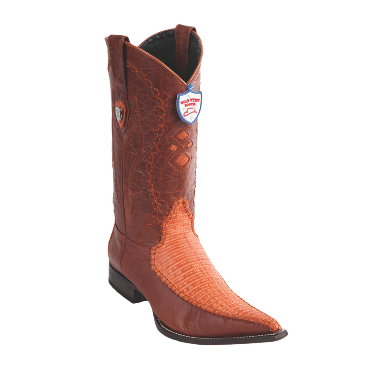 Wild West Boots 3x Toe Lizard/Deer