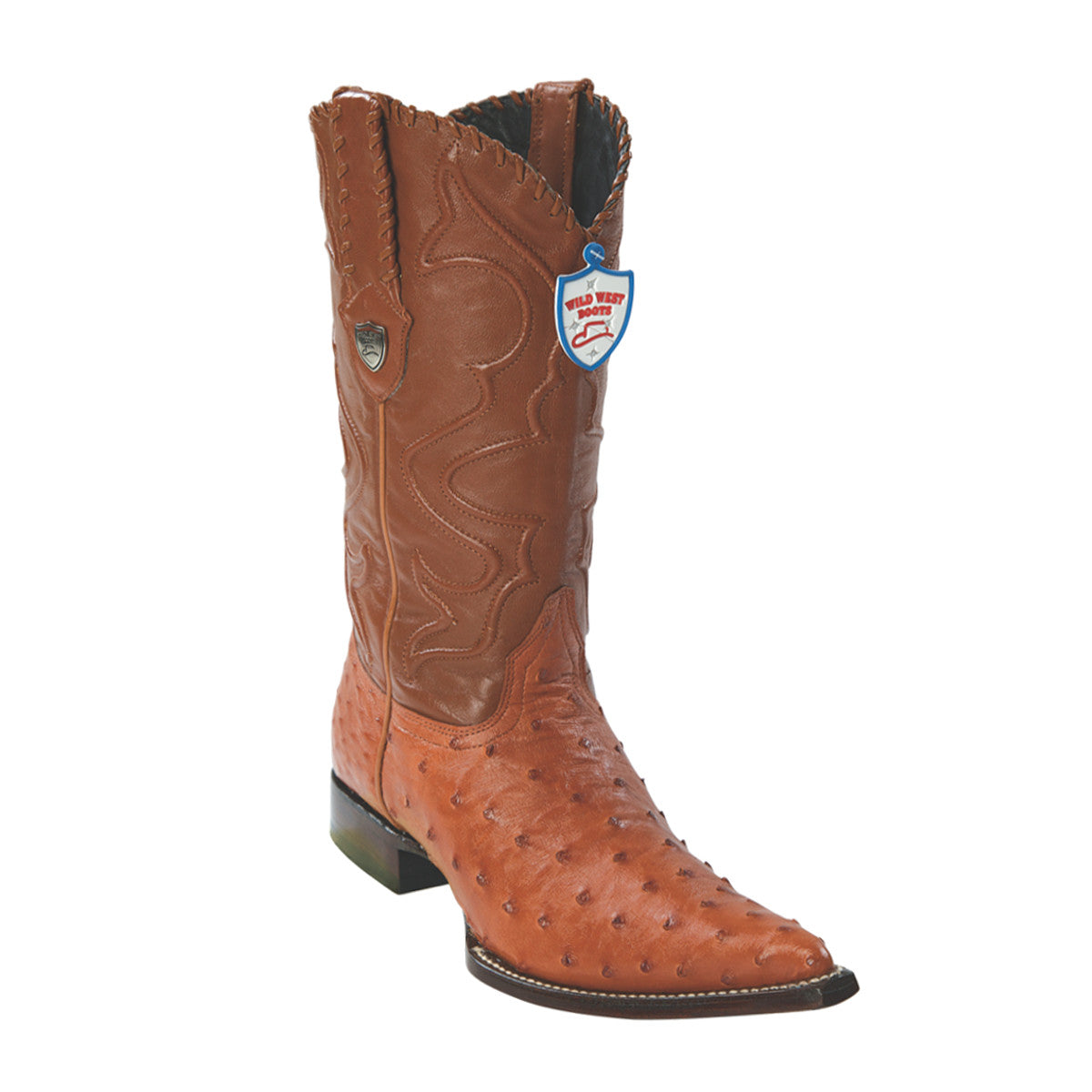 Wild West Boots 3x Toe Ostrich