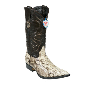 Wild West Boots H95 3x Toe Python - Natural