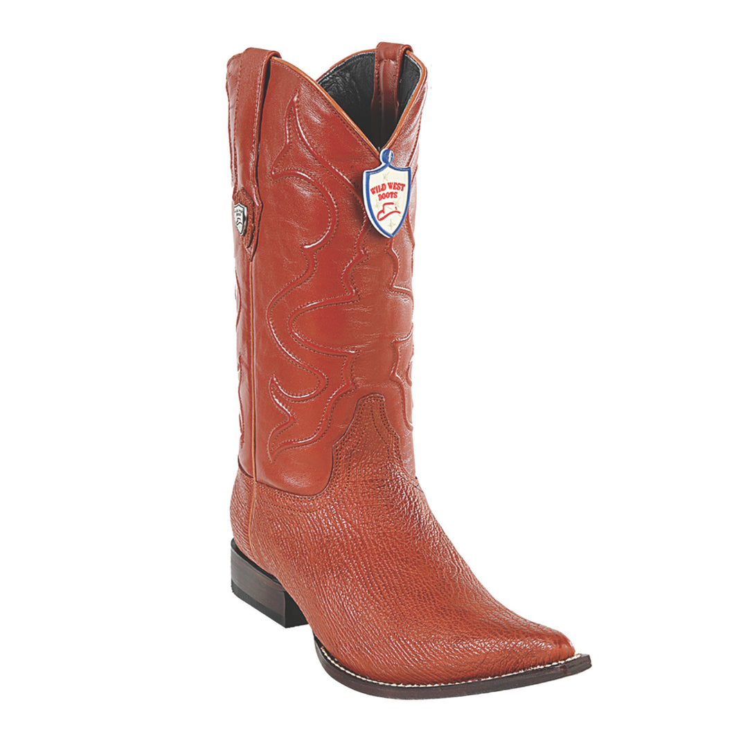 Wild West Boots H95 3x Toe Shark - Cognac