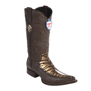 Wild West Boots 3x Toe Stingray/Deer Single Stone