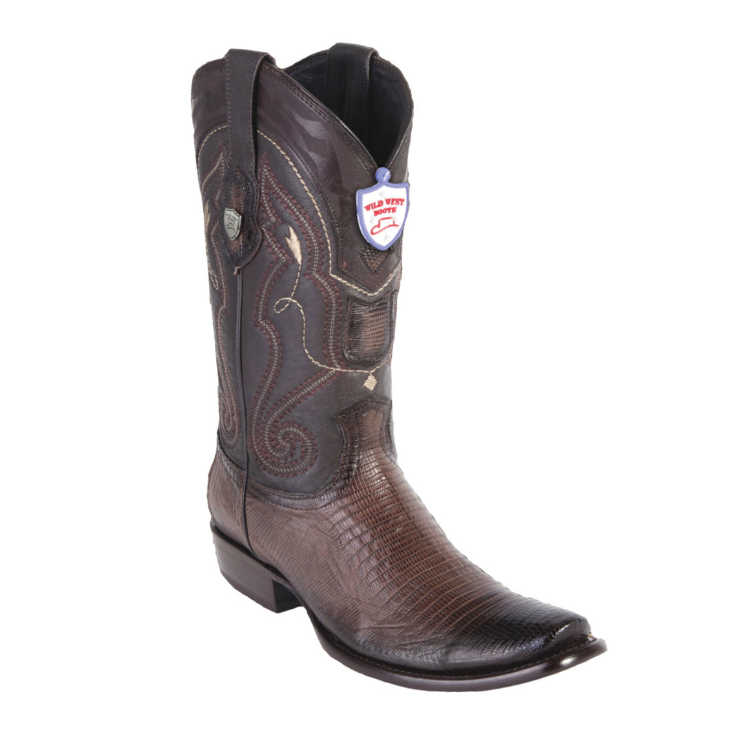 Wild West Boots H79 Dubai Boot Lizard - Faded Brown