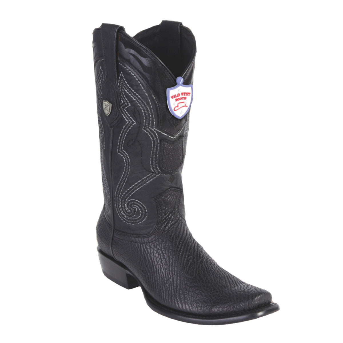 Wild West Boots H79 Dubai Boot Shark - Black