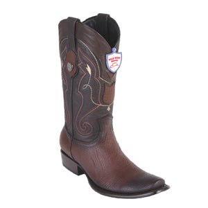 Wild West Boots H79 Dubai Boot Shark - Faded Brown