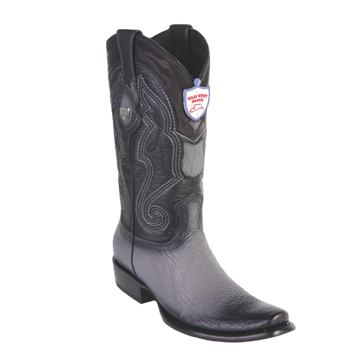 Wild West Boots H79 Dubai Boot Shark - Faded Gray
