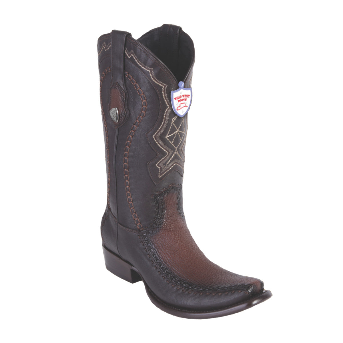 Wild West Boots H79F Dubai Boot Shark - Faded Brown
