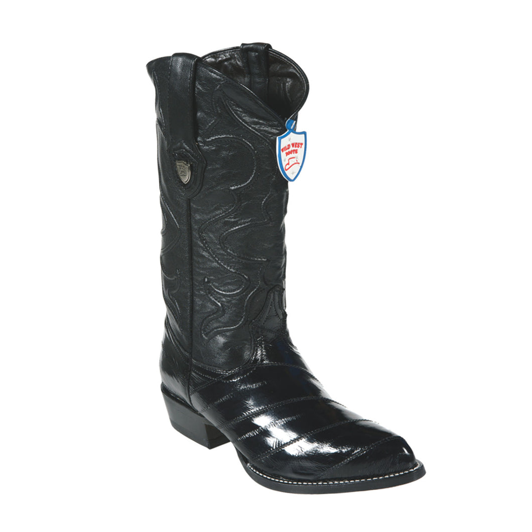 Wild West Boots H99 J-Toe EEL - Black