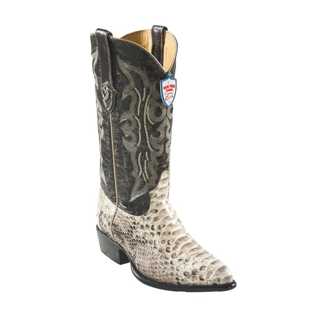 Wild West Boots H99 J-Toe Python - Natural