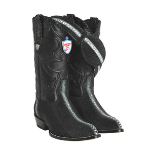 Wild West Boots J-Toe Stingray Rowstone