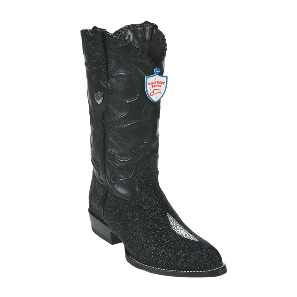 Wild West Boots  J-Toe Stingray Single Stone