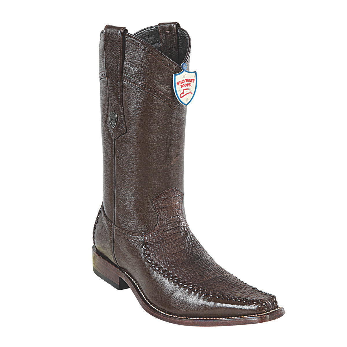 Wild West Boots Square Toe Shark/Deer
