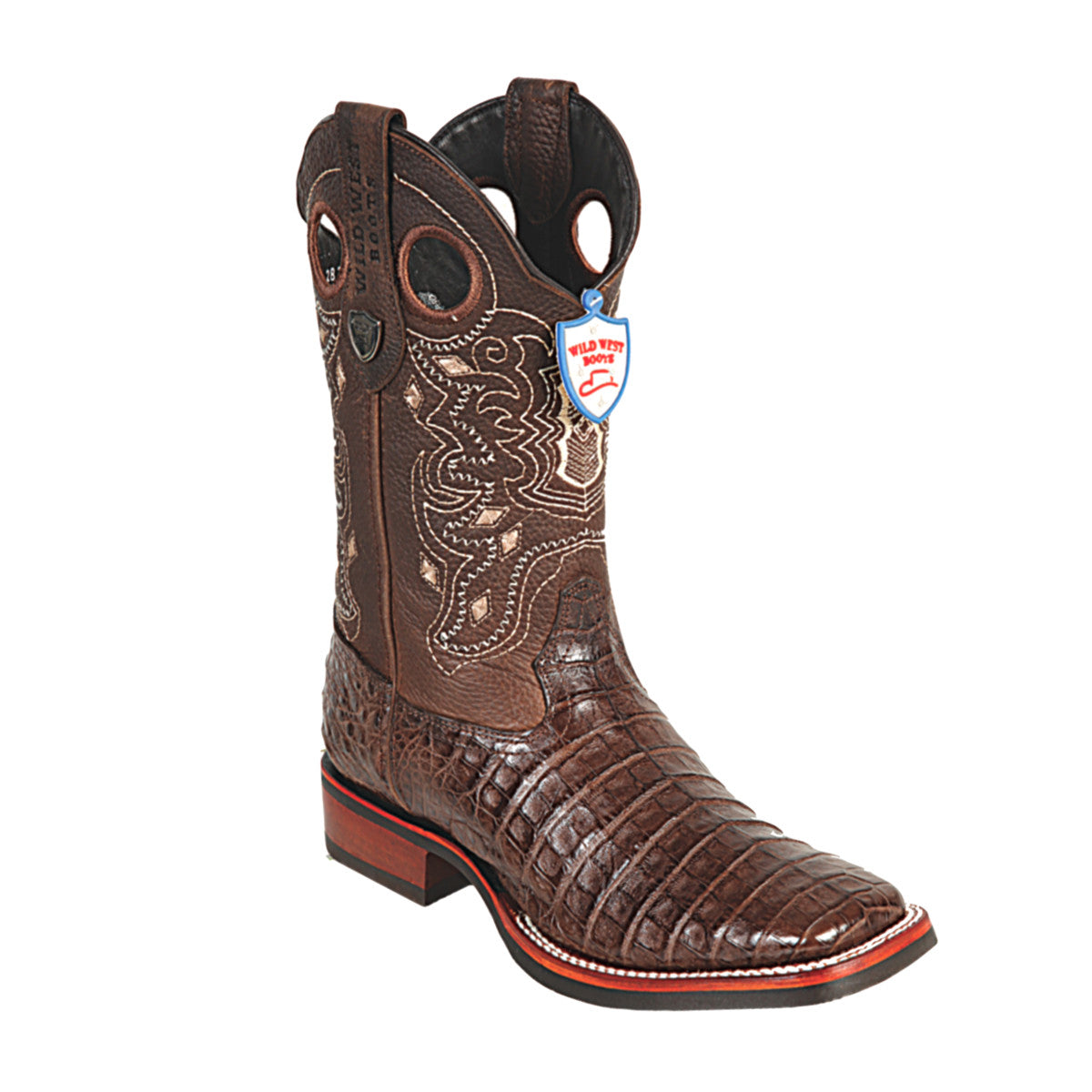 Wild West Boots Wild Ranch Toe Caiman Belly