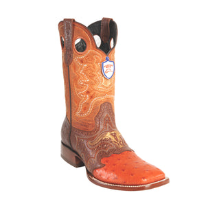 Wild West Boots Wild Ranch Toe Ostrich