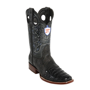 Wild West Boots Wild Rodeo Toe Caiman Belly
