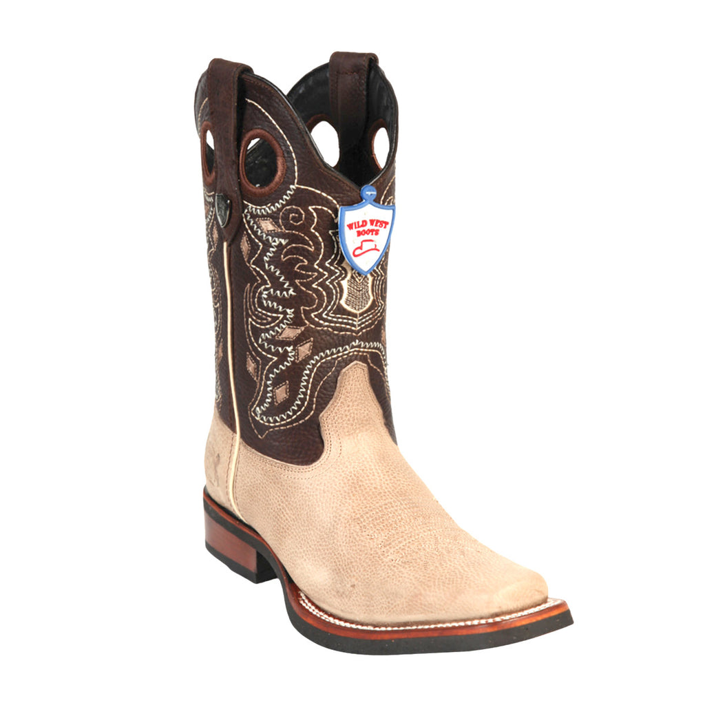 Wild West Boots Wild Rodeo Toe Grisly