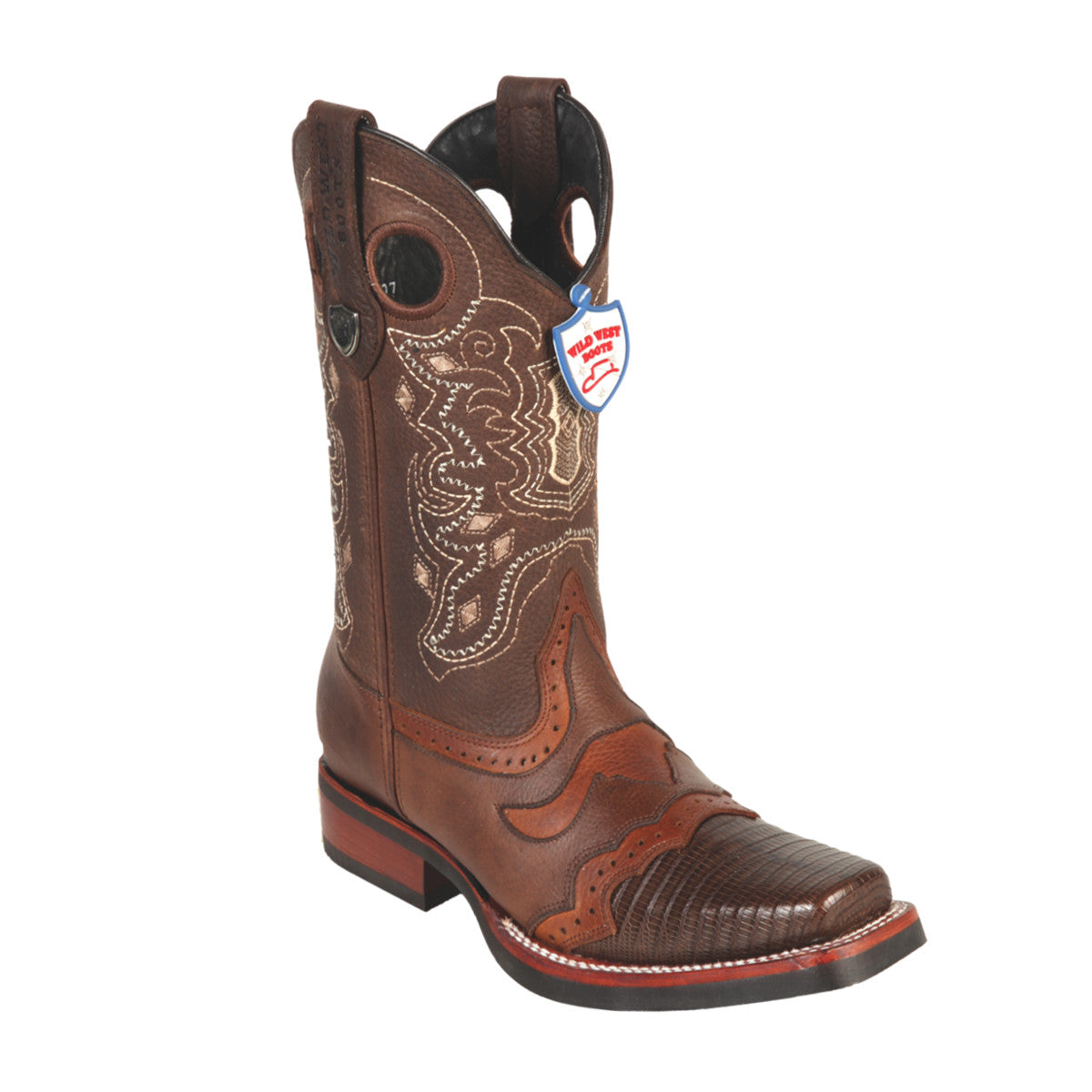 Wild West Boots Wild Rodeo Toe Lizard