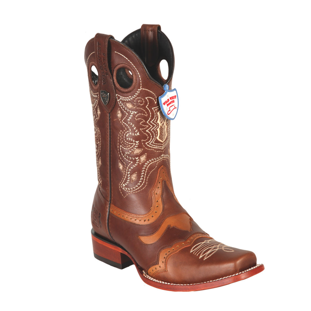 Wild West Boots Wild Rodeo Toe Pull Up