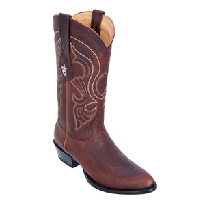 Los Altos Boots Medium R-Toe Rage w/Medallion
