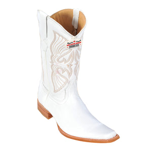 Los Altos Boots Narrow Square Toe Deer
