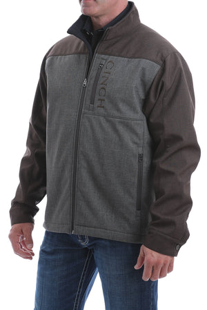 MENS CINCH CONCEALED CARRY BONDED JACKET - BROWN