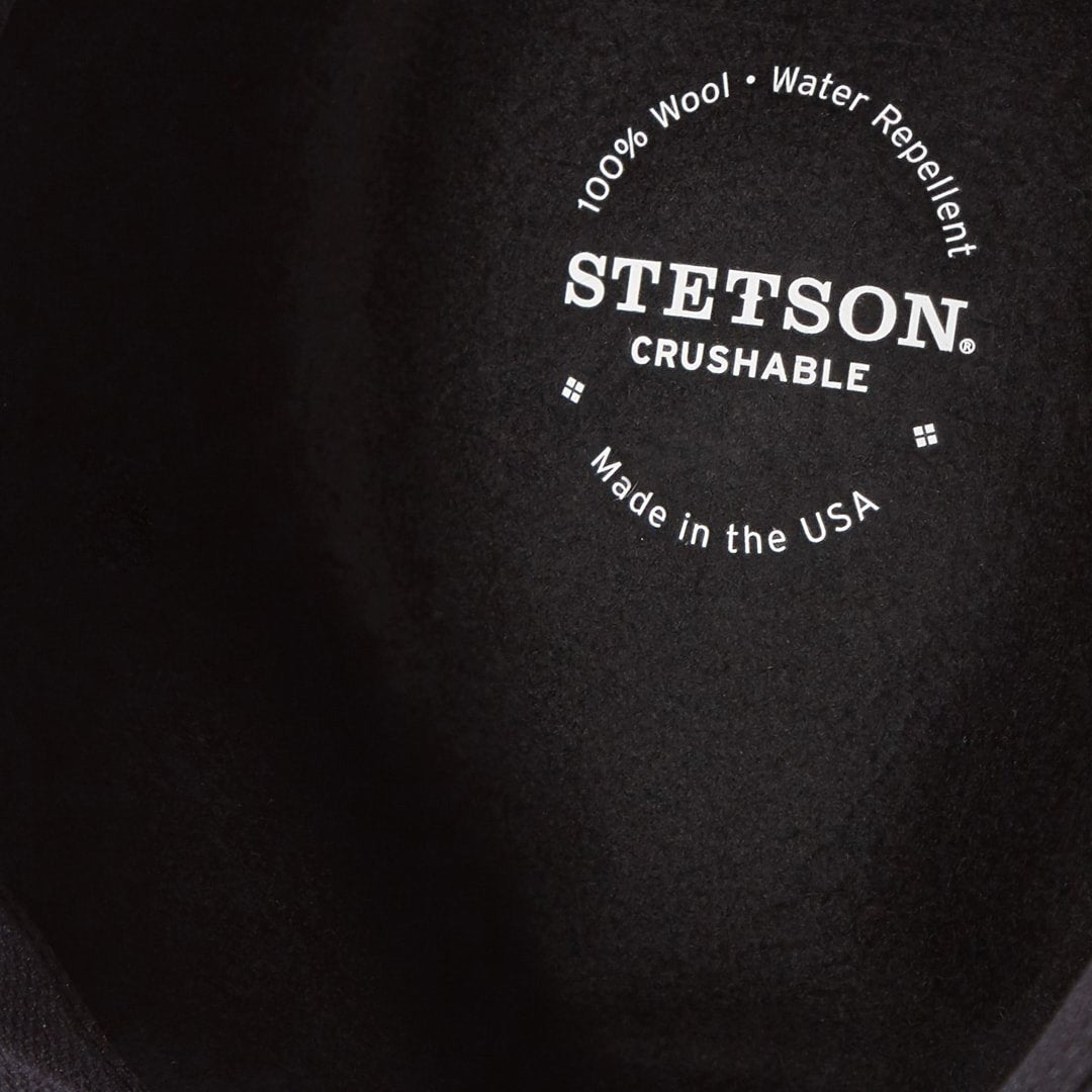 "Stetson ""Bozeman"" Crushable Outdoor Hat - Black"