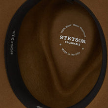 "Load image into Gallery viewer, Stetson ""Bozeman"" Crushable Outdoor Hat - Light Brown"