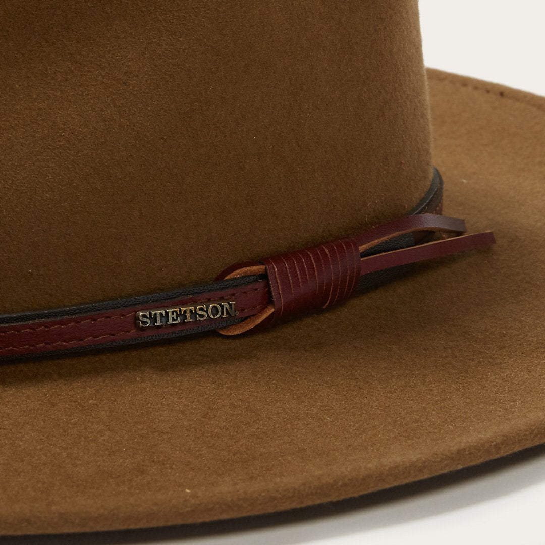 "Stetson ""Bozeman"" Crushable Outdoor Hat - Light Brown"