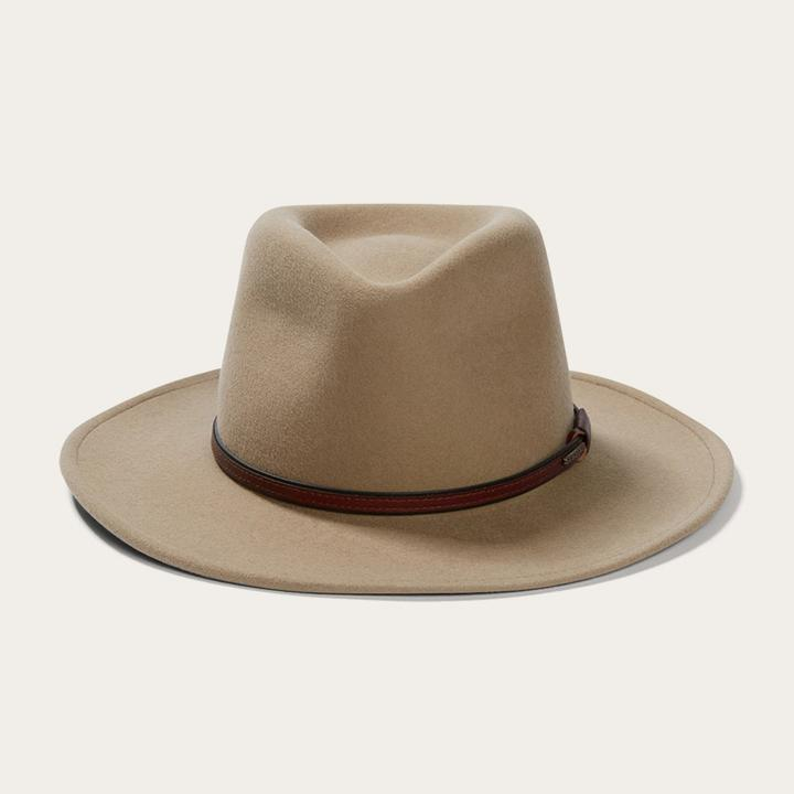 "Stetson ""Bozeman"" Crushable Outdoor Hat - Mushroom"