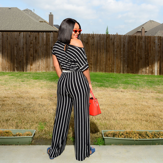 Zina Jumpsuit (Black)