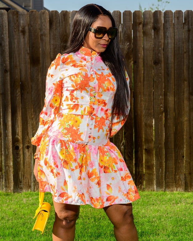 Too Chic Floral Dress
