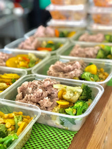 Meal and Juice Prep- Plan mensual de 20 comidas y 20 zumos 16oz - Zumo Fresco