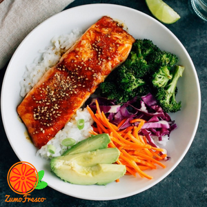 Fresco Salmon Bowl - Zumo Fresco