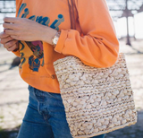 Load image into Gallery viewer, Puff Straw Shoulder Bag I Puffee