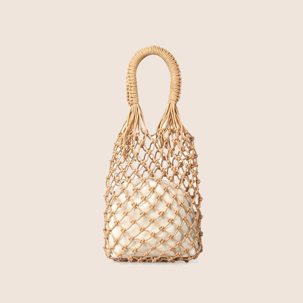 Rope Net Handbag I Puffee