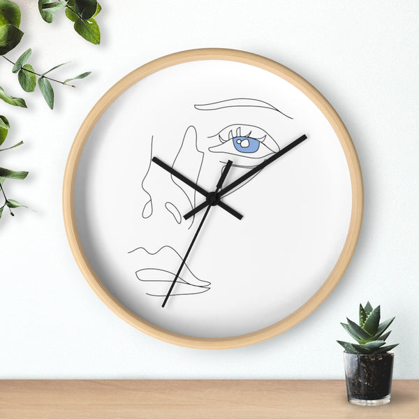 Face Wall Clock I Puffee