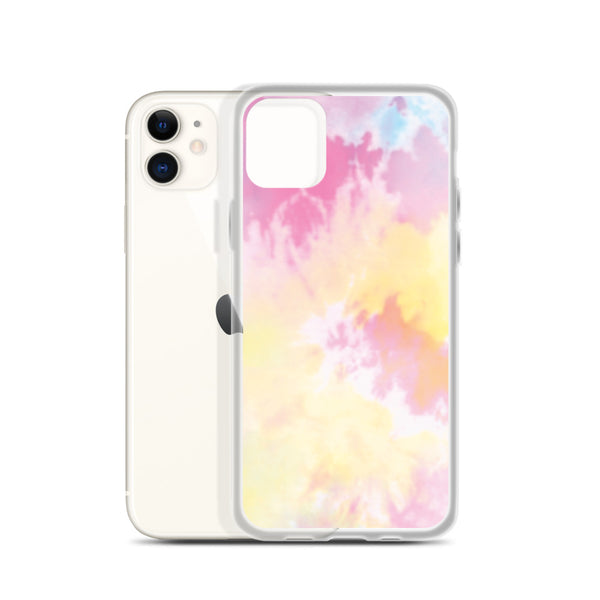 Pink Tie Dye iPhone Case I Puffee