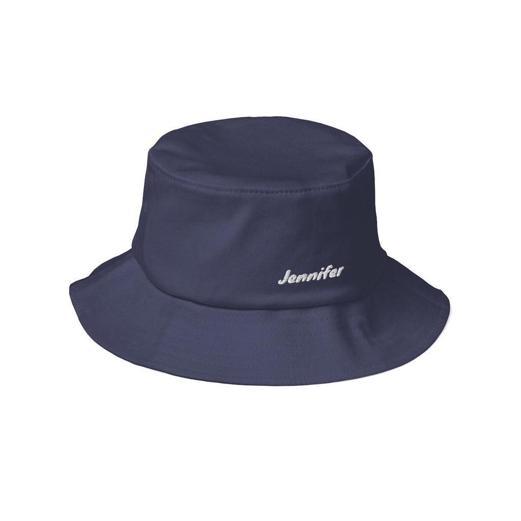 Personalized Old School Bucket Hat - Knewave - Puffee