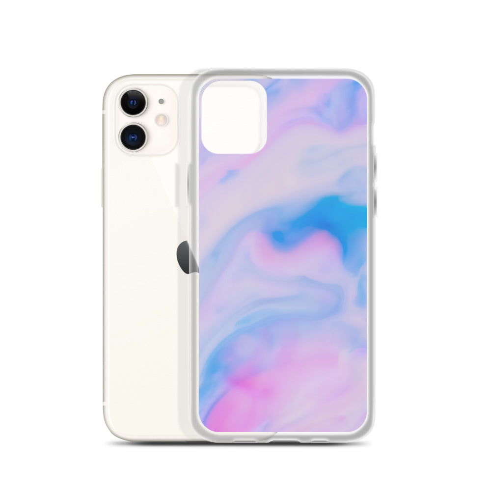 Purple Marble iPhone Case - Puffee