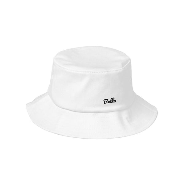 Personalized Old School Bucket Hat - Pacifico I Puffee