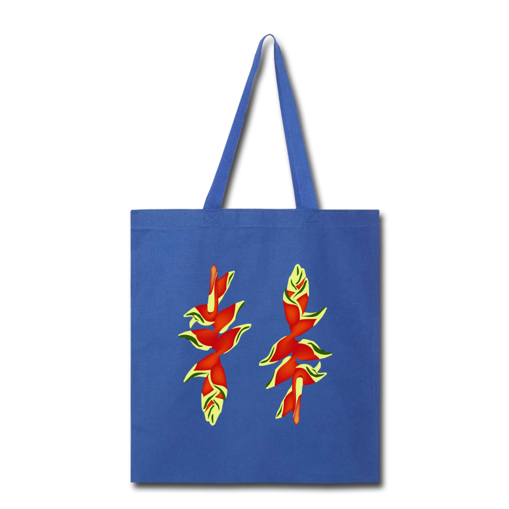 Lobster Claw Eco Tote Bag in Royal Blue I Puffee