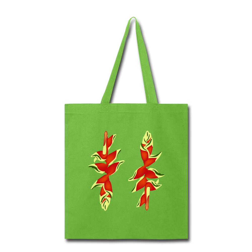 Lobster Claw Tote Bag in Lime Green I Puffee