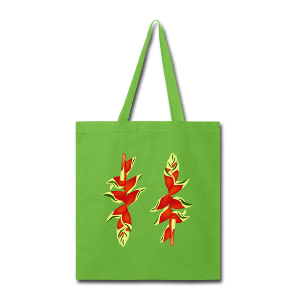 Lobster Claw Tote Bag in Lime Green - Puffee