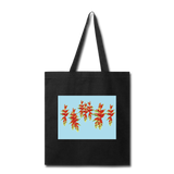 Load image into Gallery viewer, Tropical Flowers Cotton Canvas Tote I Puffee